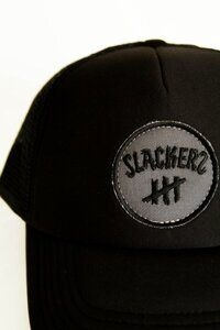 Кепка SLACKERS ROUND LOGO black3